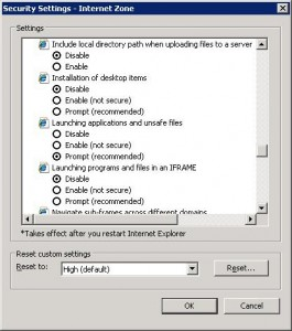 Windows cannot access the specified device, path, or file.  You may not have the appropriate permissions to access the item.