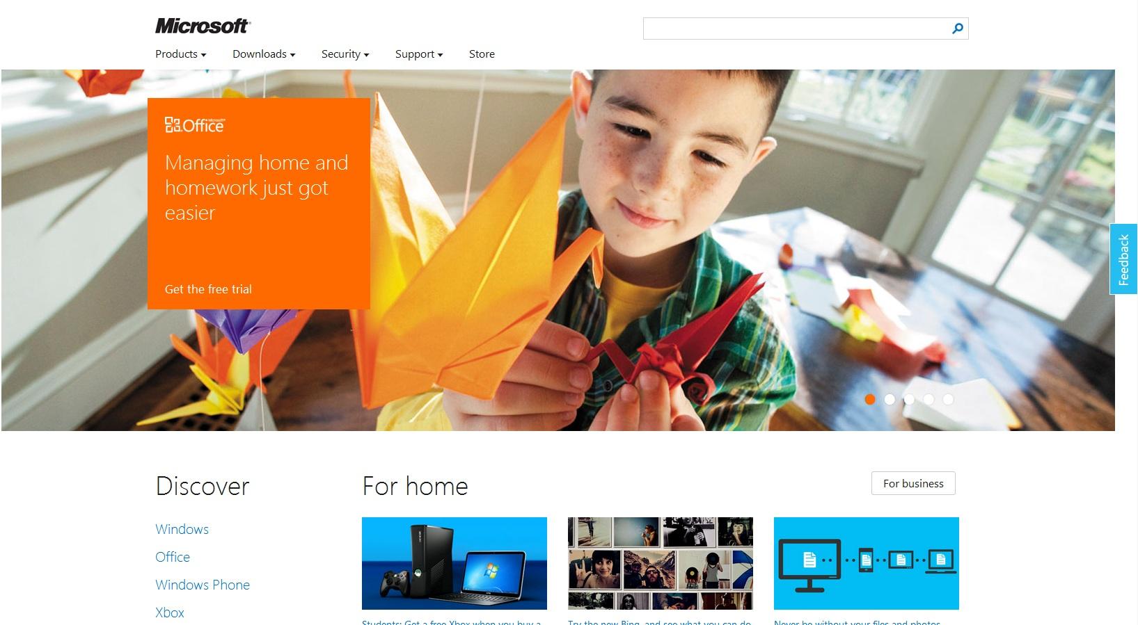 Microsoft Preview Site